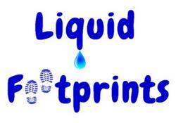 Liquid Footprints Logo