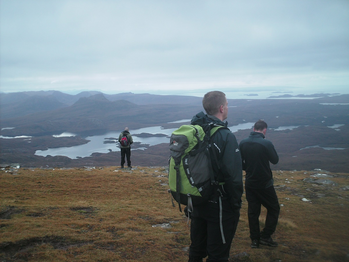 On top of Suilven